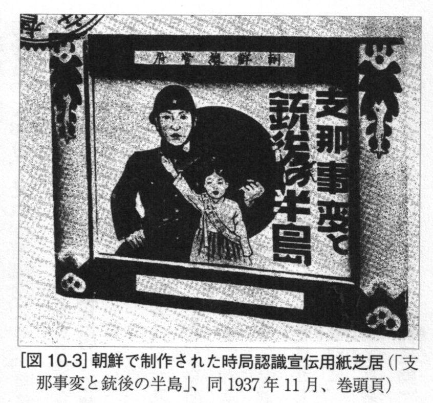 朝鮮での時局認識紙芝居