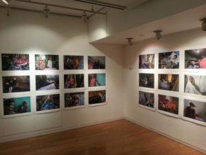 ギャラリーの展示