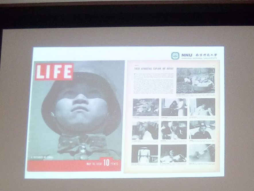 雑誌『ライフ』(1938年)に掲載された南京事件の写真